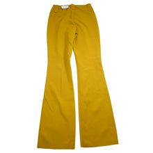 Load image into Gallery viewer, 1970's HBarC Ranchwear Mustard Stretch Deadstock Poly-Western Rodeo Pants