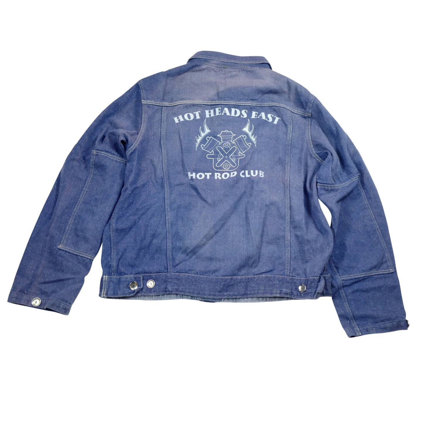 Hot Heads East Hot Rod Club Denim Jacket