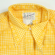 Load image into Gallery viewer, 70's Rockmount Ranch Wear Yellow Collared Women's Pearl Snap Long Sleeve Top