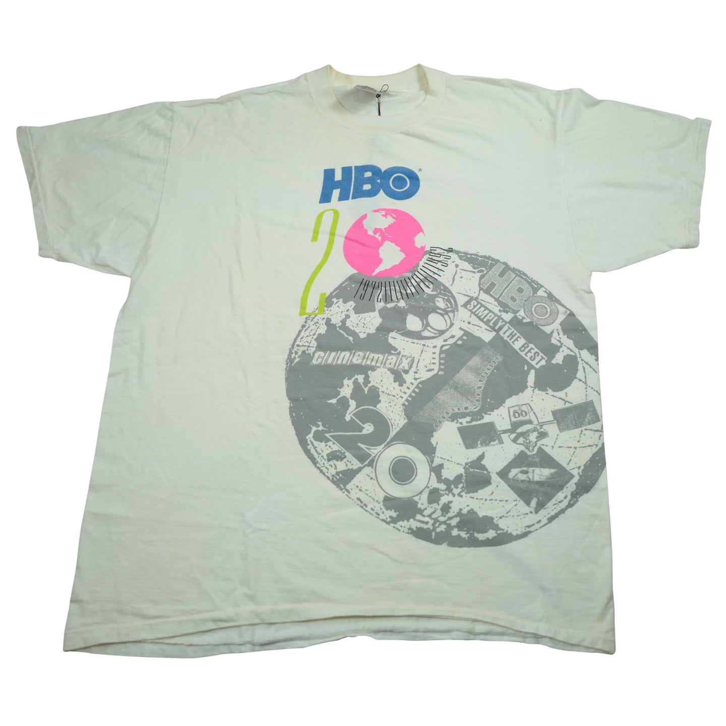Vintage 90's 20th Anniversary HBO Tee
