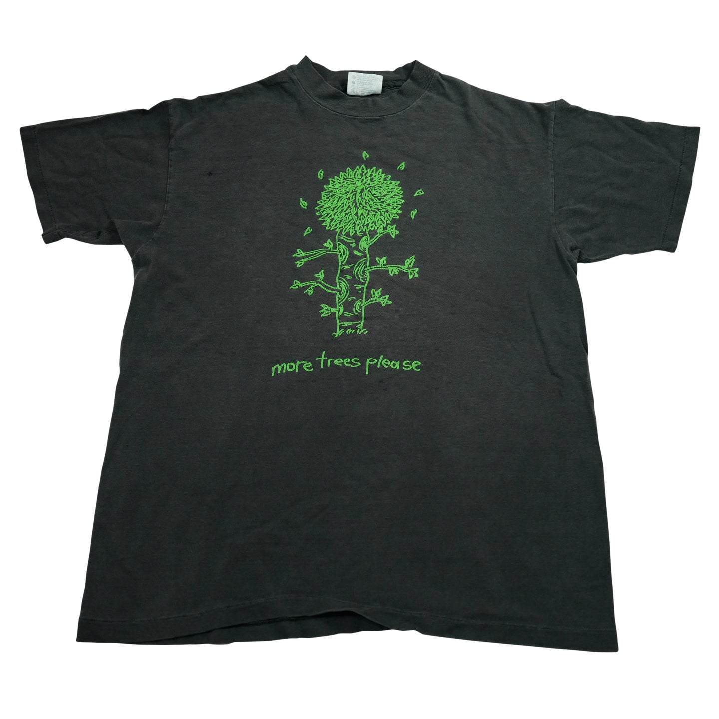 Vintage 90's More Trees Please Graphic Tee