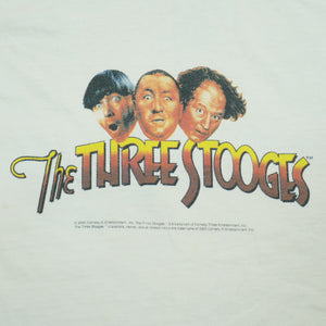 Vintage 2000 The Three Stooges Promotional Tee