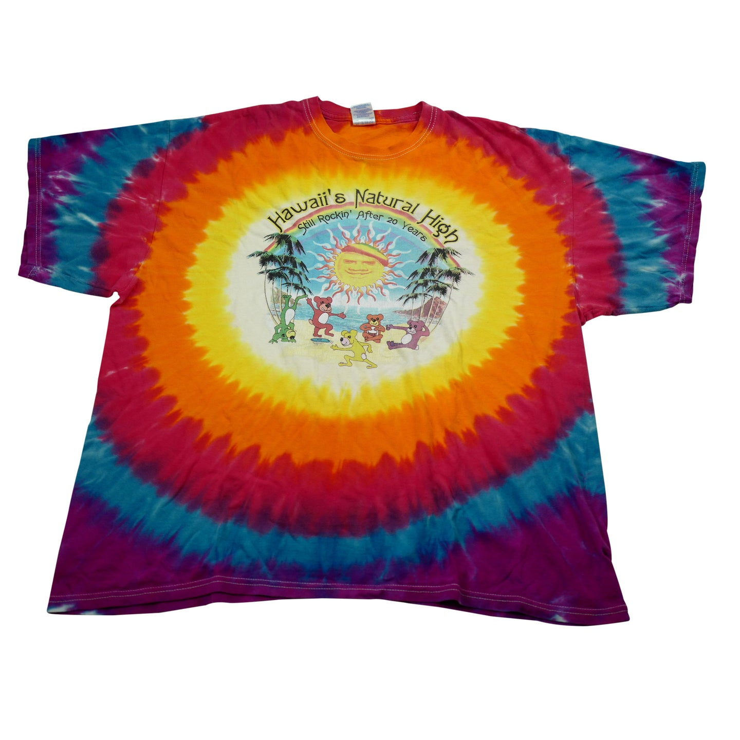 Hawaii's Natural High Tie Dye Tee