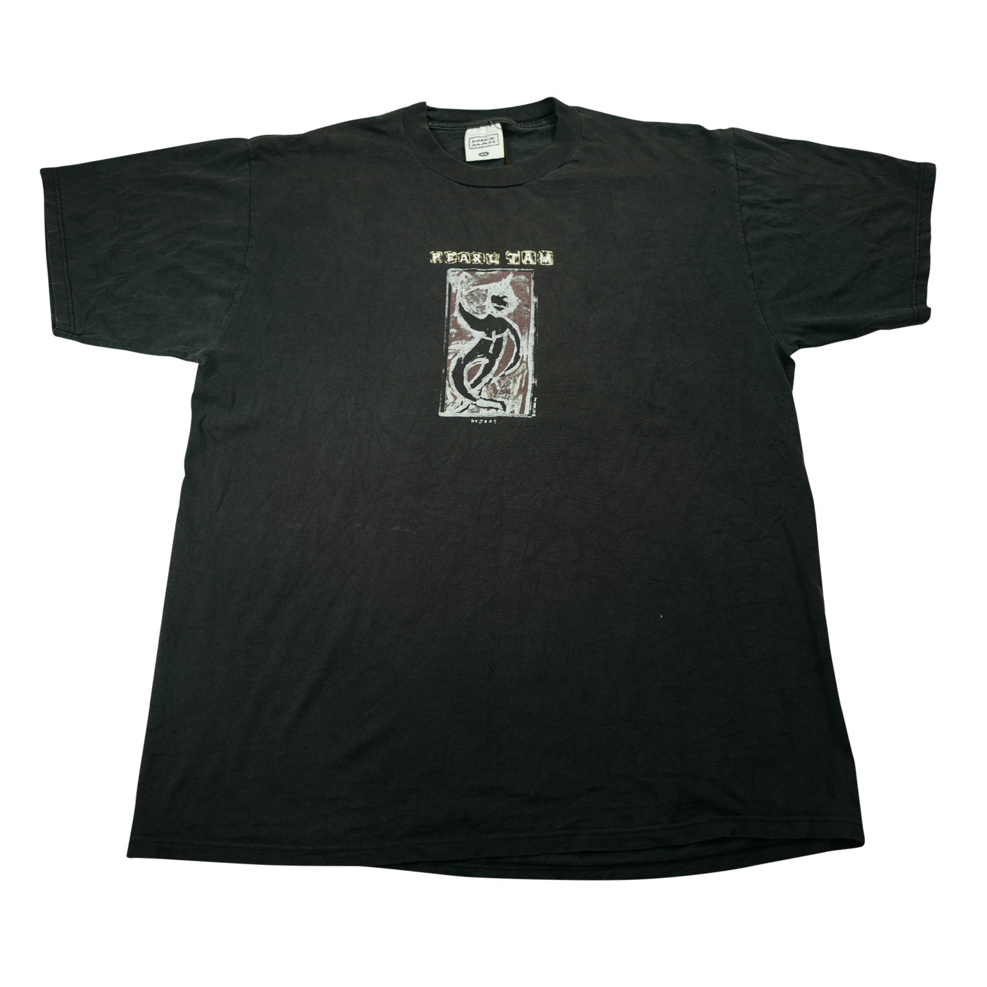 Vintage 1993 Pearl Jam Reject Tour Tee