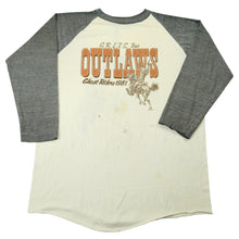 Load image into Gallery viewer, Vintage G.R.I.T.S. Tour Outlaws Ghost Riders 1981 tee