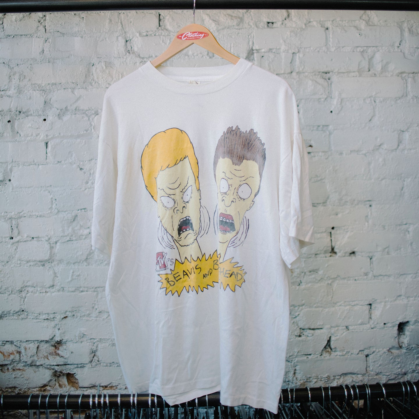 Vintage 90's Beavis and Butthead MTV Tee