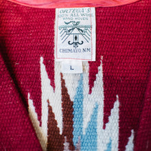 Load image into Gallery viewer, Vintage Woven Ortega Chimayo Vest