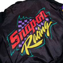 Load image into Gallery viewer, Multi-Colored 90's Snap-On Racing Windbreaker Jacket