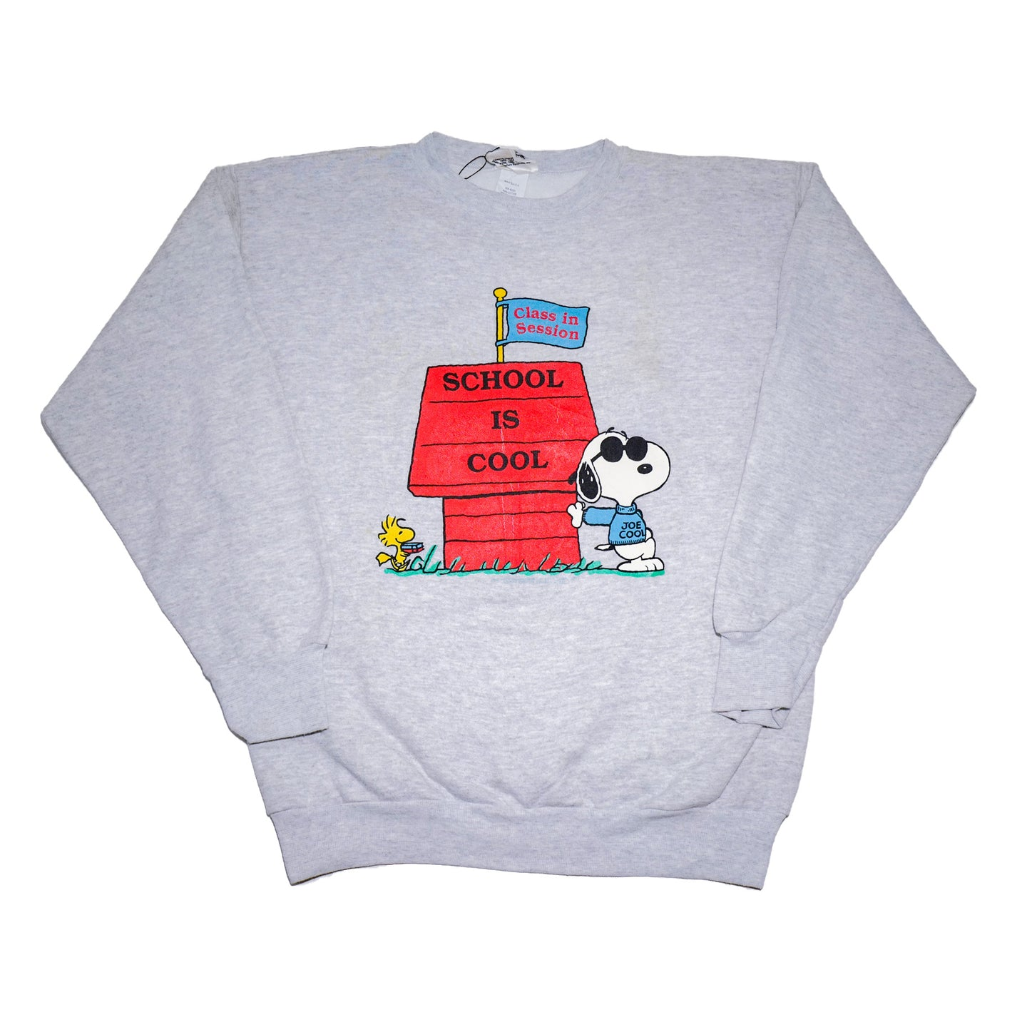 Vintage Snoopy School Is Cool Sweatshirt