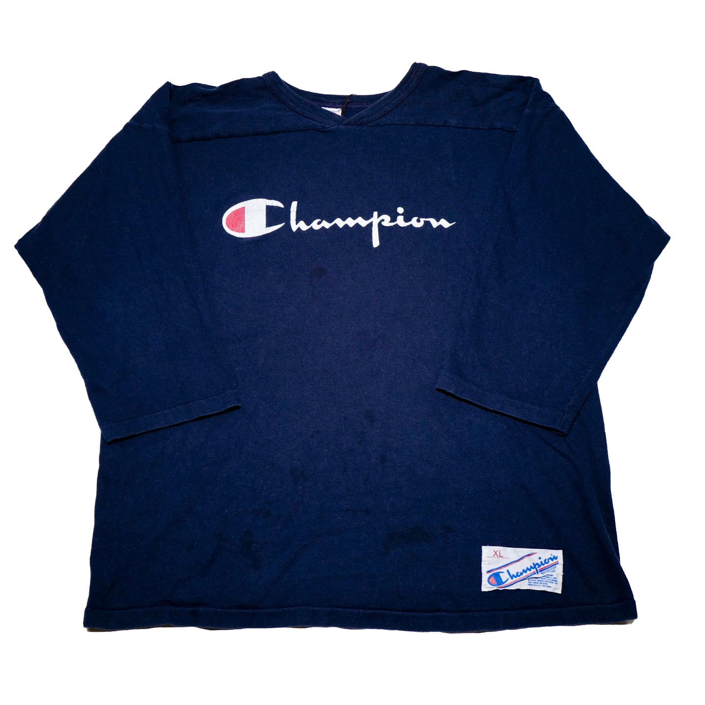 90's Champion 3/4 Sleeves Graphic Tee