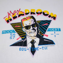 Load image into Gallery viewer, 1987 Max Headroom Official Chrysalis Visual Programming Tee
