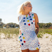 Load image into Gallery viewer, Vintage Polka Dot Romper