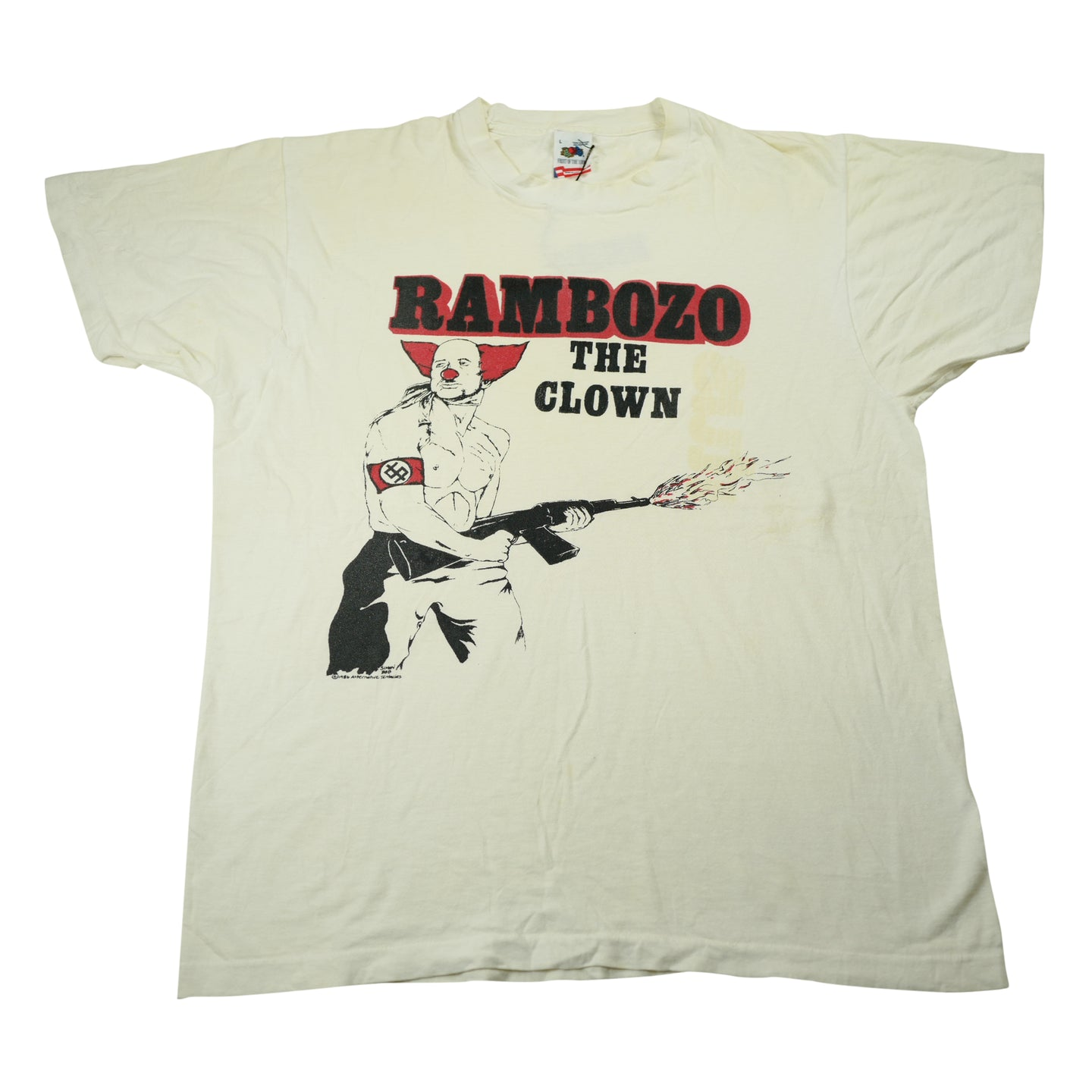 Vintage 1986 Dead Kennedys Rambozo The Clown Tee