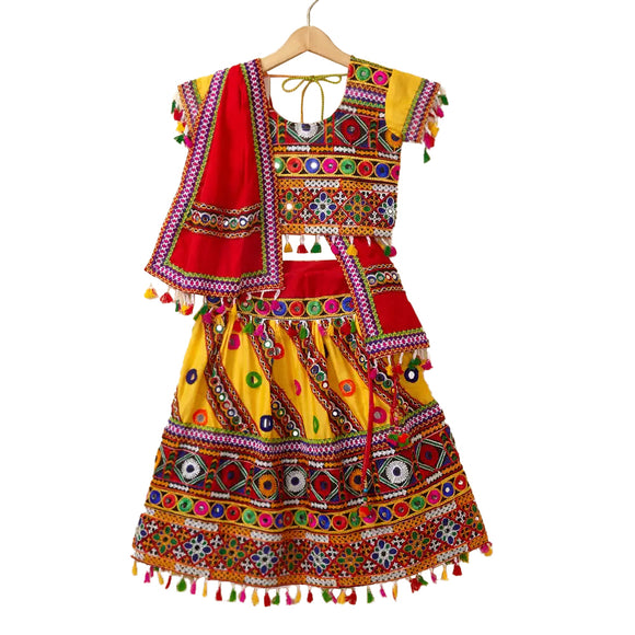 Girl's Chaniya Choli Set