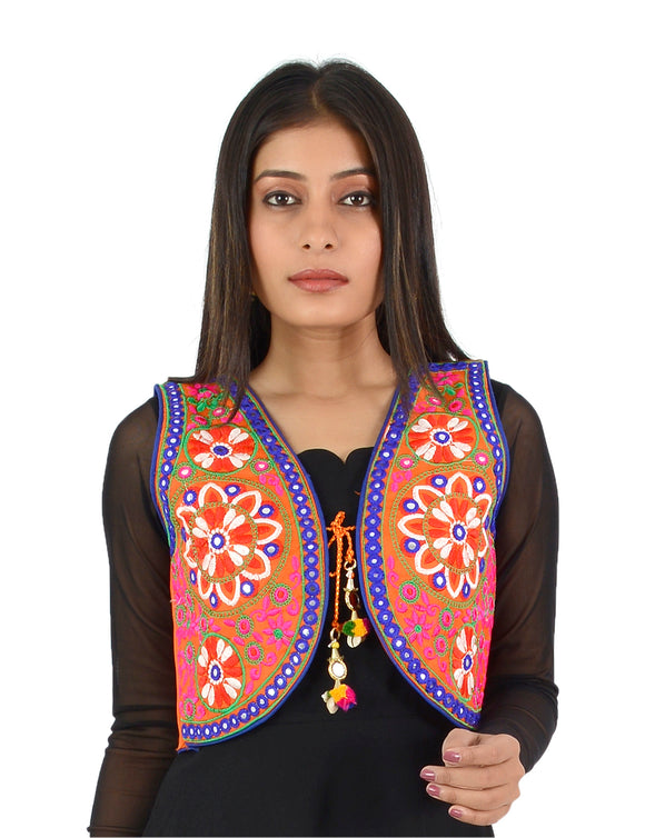 Embroidered Short-Length Jackets
