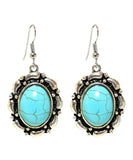 Sky Blue Stone Studded Metallic Set-3-J010