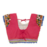Banjara India Kutchi Embroidered Chaniya Choli For Girls (CC-KDR) - Pink