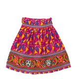Banjara India Kutchi Embroidered Chaniya Choli For Girls (CC-TGL) - Pink