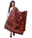 Banjara India Women's Pure Cotton Aari Embroidery & Foil Mirrors Dupatta (Chakachak) Maroon - CHK04