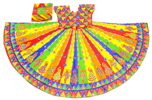 Banjara India Multicoloured 3 piece Chaniya Choli Set-DND02