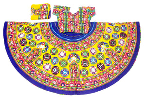 Banjara India Multicoloured 3 piece Chaniya Choli Set-GOL02