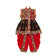 Banjara India Embroidered Kedia For Boys - KD-RGR-Black (14)
