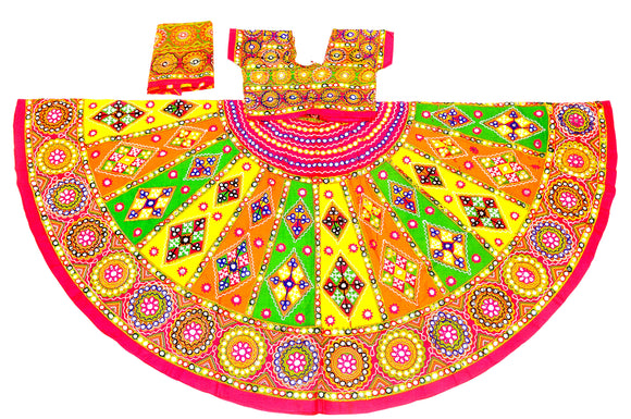 Banjara India Multicoloured 3 piece Chaniya Choli Set-KAJU01
