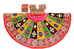 Banjara India Multicoloured 3 piece Chaniya Choli Set-KAJU05