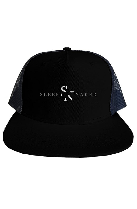 Sleep Naked Apparel Classic Trucker Cap Black