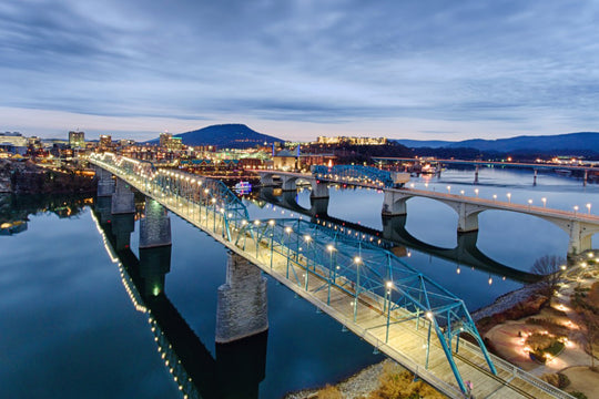 Top 5 Best Running Routes in Chattanooga