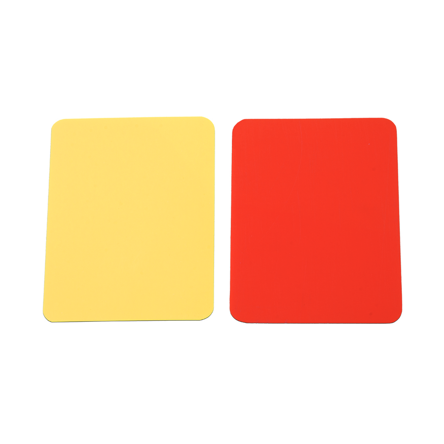Kwikgoal Red and Yellow Cards
