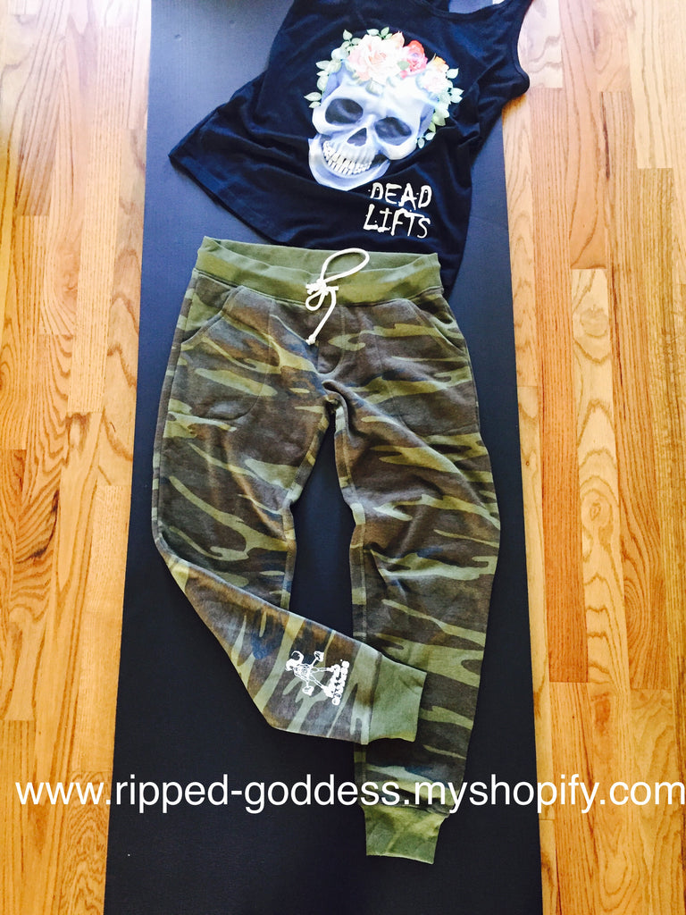 RG Camo fleece lined Joggers