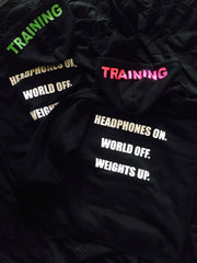 RG Headphones and Weights Hoodie