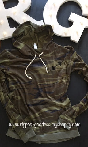 RG Pullover Camo Hoodie