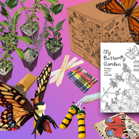 My Butterfly Garden: Children's Activity MEGABOX