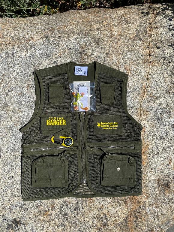 RSABG Junior Ranger Vest, Green