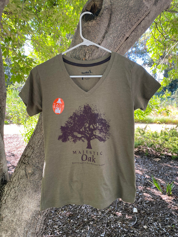 RSABG Ladies Majestic Oak V-Neck T-Shirt