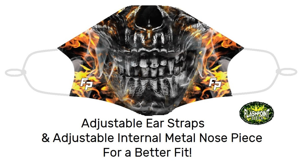 Fitted Mask - 3 Fears (Free Shipping)