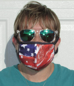 Quick Masks - Merica (Free Shipping - $7.99 each or 2 or more for $7 Each)