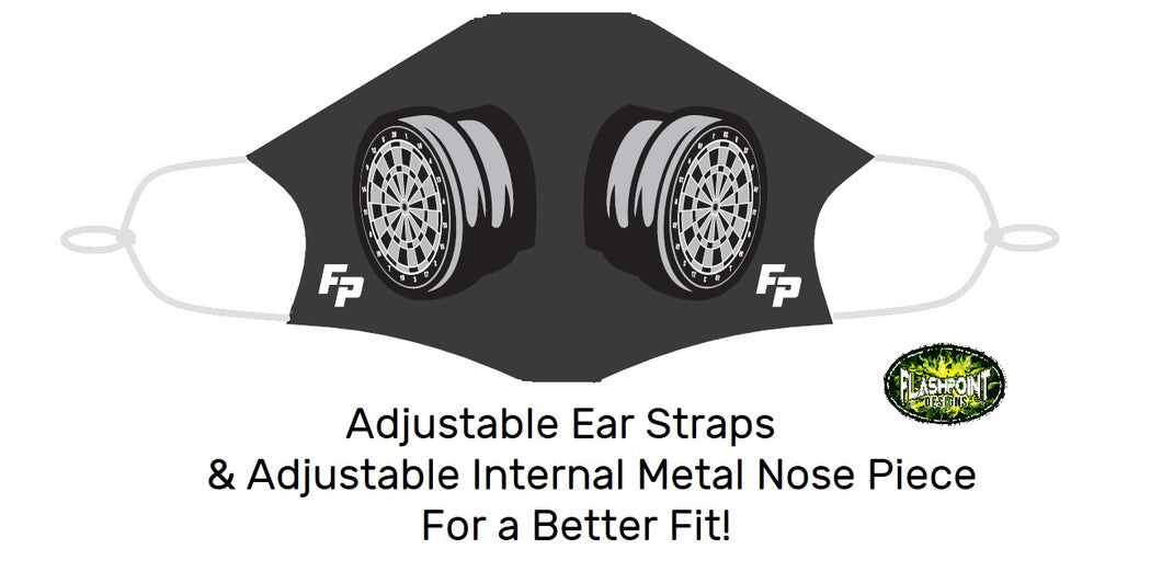 Fitted Mask - Dart Filter (Free Shipping - $15 each or 2 for $25)