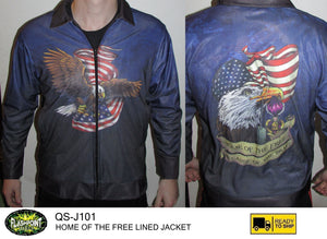 Home of the Free Lined Jacket - RTS