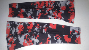 Arm Sleeve - Red Micro Check - RTS - Free Shipping!