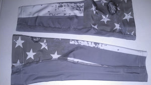 Arm Sleeve - Grey Flag - RTS - Free Shipping!