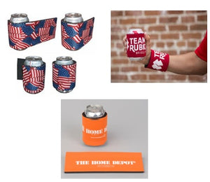 Slap Koozie- Fight Breast Cancer - RTS - Free Shipping!