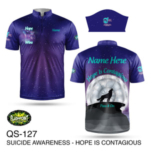 Suicide Prevention Hope is Contagious - Fundraiser 2021