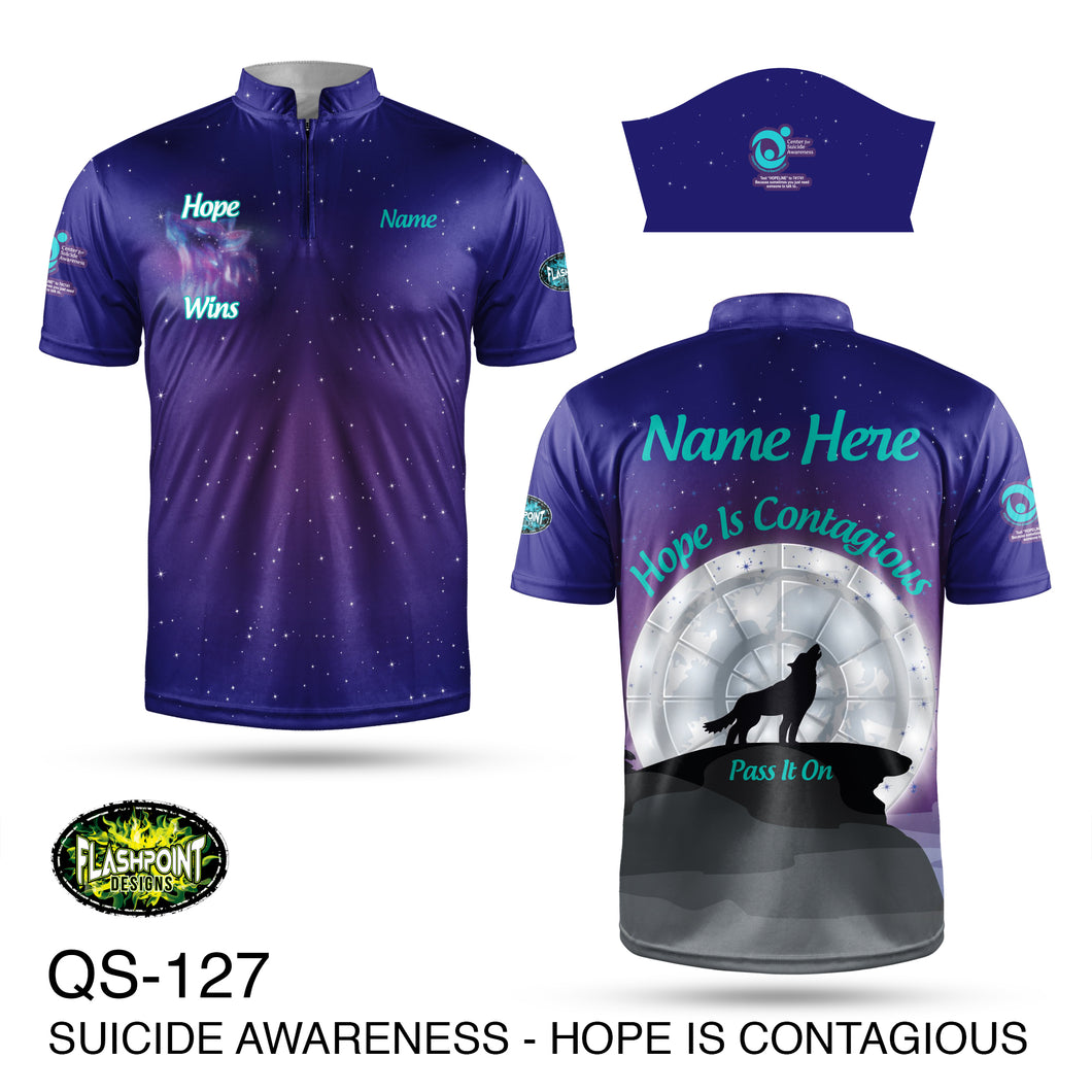 Suicide Prevention Hope is Contagious - Fundraiser 2021- Bundle
