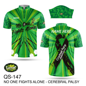 No One Fight Alone Cerebral Palsy - Personalized
