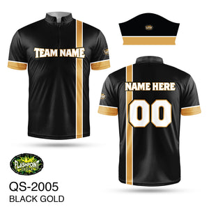 Black Gold Softball - Personalized