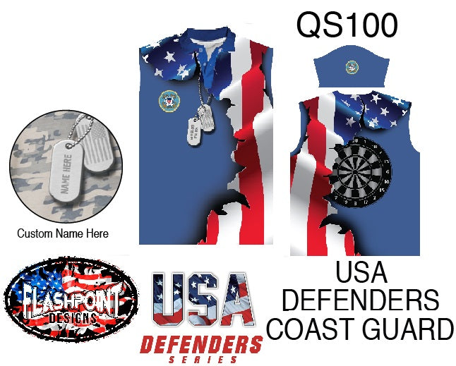USA Defenders Coast Guard - Personalized