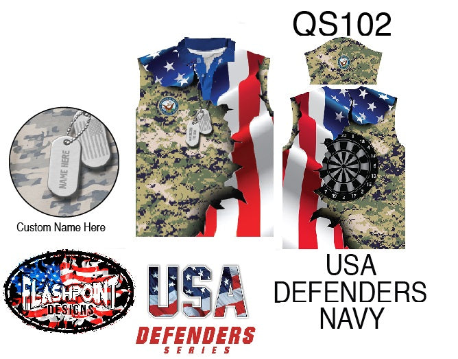 USA Defenders Navy - Personalized